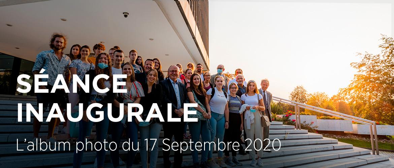 Séance Inaugurale